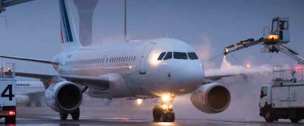 inprogroup - Vereisungsschutz für am Bahnkopf stationierte Flugzeuge