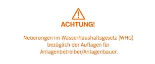 inprogroup - Neuerungen im Wasserhaushaltsgesetz (WHG)